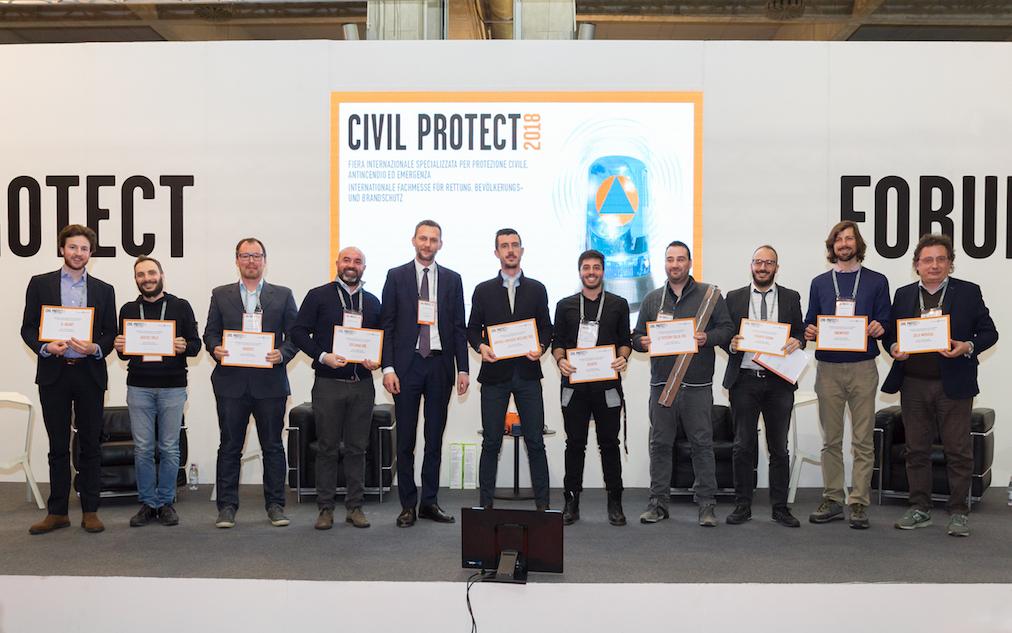 Finalisti Civil Protect Startup Award 2018, foto Marco ParisI