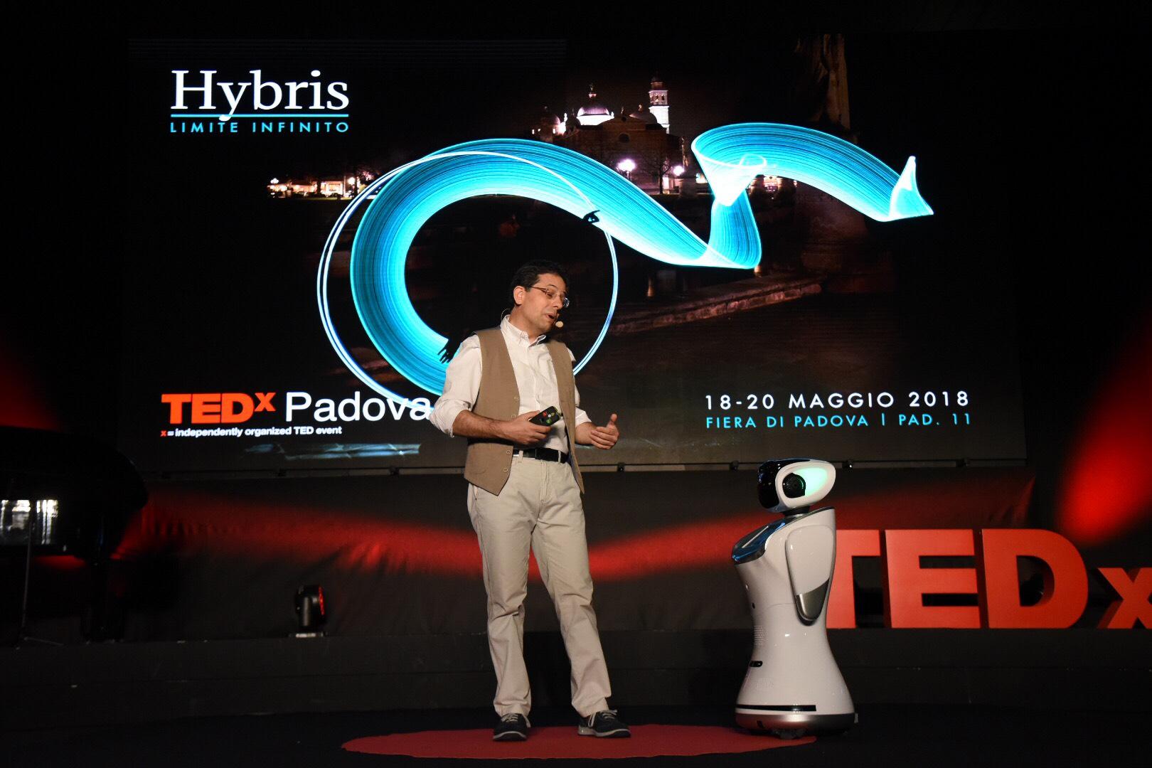 Don Marco Sanavio al TEDxPadova