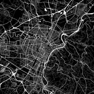 Mappa di Torino (Shutterstock)